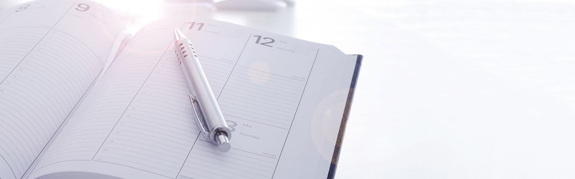 Kalendereinträge für die Residenz Westfalenhof in Bad Lippsringe